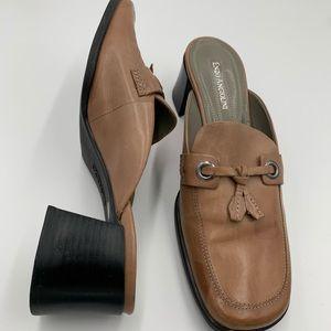Enzo Angiolini Hepburn EA Flexo mules block heel